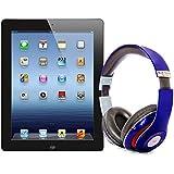 Pack iPad 3 32Go Wifi 3G Noir avec casque Bluetooth Bleu