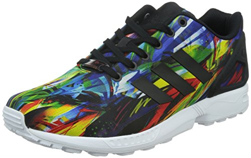 adidas Zx Flux, Sneakers Basses Homme Multicolore (Core Black/Core Black/Ftwr White)
