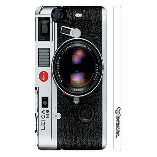 Enthopia Designer Hardshell Case Camera Lens Back Cover for Micromax Canvas Knight A350  available at amazon for Rs.95