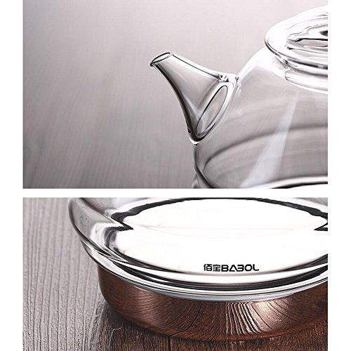 GPC High Borosilicate Glass Electric Kettle Electric Kettles