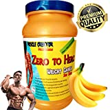 Muscle Creator nutrition's (zero to hero) weight gainer for men banana 1 kg