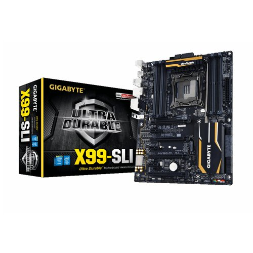 Gigabyte X99-SLI placa base (X99 Express, DDR4, S-ATA 600, ATX, USB 3,0, 2 m de vaso.)