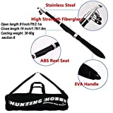 Hunting Hobby Fishing 7 Feet Telescopic Rod With Travelling Bag