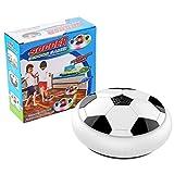 gjghfdhgjgu Schwebeball LED Licht Flashing Air Power Soccer Ball Disc Indoor Fußball Spielzeug Multi-Oberfläche Schweben und Gleiten Spielzeug