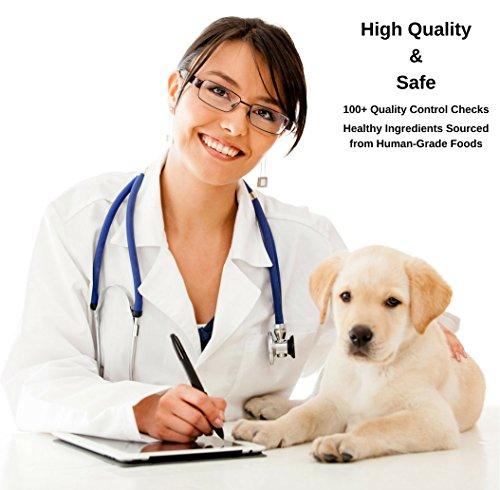 Vonziu Elite Premium Hundefutter / Welpenfutter – Hochenergetische Tiernahrung – Für kleine & große Hunderassen – Hypoallergen – Reich an Fischöl / Vitaminen / Mineralien – 100% Bio-Zutaten - 5