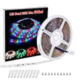 LED Streifen SELIAN 3528 10m RGB LED Band mit 600led LED Strip Stripe Stripes für DIY Weihnachtsfeiertags Küchenschrank Beleuchtung/Innenbe