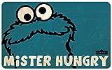 Sesamstrasse - Vintage Frühstücksbrettchen - Krümelmonster - Mr. Hungry