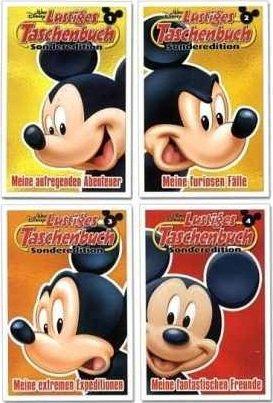 LTB Lustiges Taschenbuch - Sonderedition Happy Birthday Micky Maus - Band Nr. 1, 2 3 & 4 (Alle 4 Bücher)