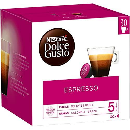 Nescafé Dolce Gusto Espresso - Café - 30 Capsules (1 boîte XL)