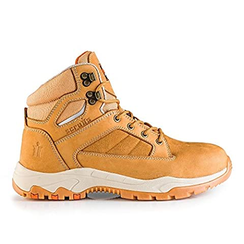 Scruffs OXIDE Water Resistant Hiker Safety Boot Camel (Sizes 7-12) (UK 7)