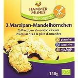 Hammermühle Bio-orga Biscuits Demi-Lune à la Pâte d'Amande Bio sans Gluten 150 g