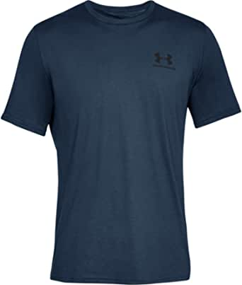 Under Armour Sportstyle Left Chest, Super Soft Men's T Shirt for Training and Fitness, Fast-Drying Men's T Shirt with Graphic Men