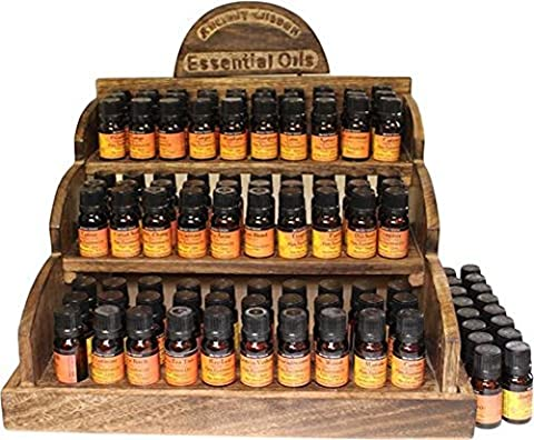 HERBS & SPICE Essential 100% Pure Oils - Economy Pack of Favourites - Cinnamon, Clary Sage, Peppermint, Rosemary, Clove - For Aromatherapy, Candle Making, Oil Burners and Bath/Massage