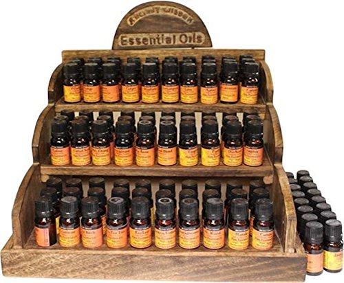 Huiles essentielles 100% pure-spécialement sélectionnées pour cerveau aide-Bergamote, basilic, citron, orange, pamplemousse