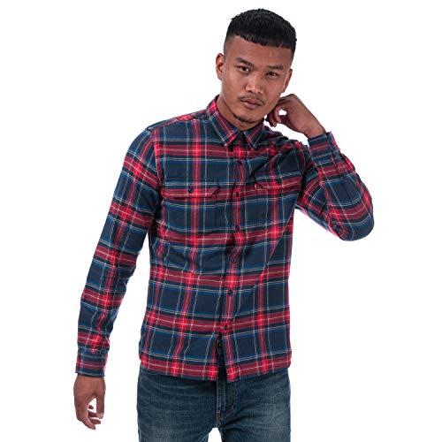 Levi's Hombre Camisa Jackson Worder Lingroth, Azul, Small