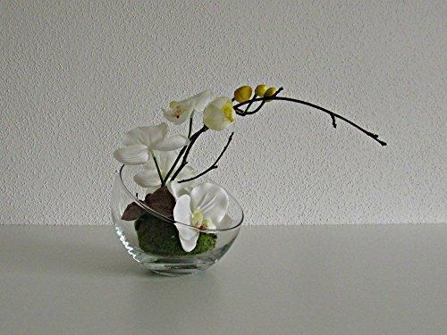 Blumendekoration Kugel Vase