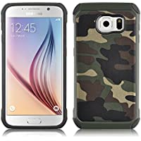 JAMMYLIZARD | Cover custodia Heavy Duty ARMY in TPU per Samsung Galaxy S7, VERDE