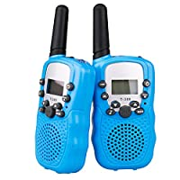 Norbase Walkie Talkies, Walkie Talkies Kids Toy Wireless 0.5W PMR446 Long Distance Range Walkie Talkie for Kids, Outdoor Adventures,Field Survival Biking Hiking