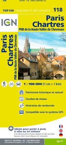 Top100118 Paris/Chartres 1/100.000
