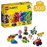 LEGO 11002 Set di Mattoncini di Base, 300 Pezzi per Creare e dar Vita alla tua Fantasia, Fai partire la tua Immaginazione con 3 Livelli di Complessità, idea Regalo per Bambini dai 4 Anni