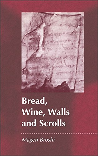 Bread, Wine, Walls and Scrolls (JSP Supplements (Paperback)) Middle East Wall Map