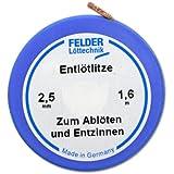 Felder 2,5mm Entlötlitze - 1,6m auf Klappspule
