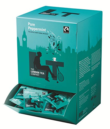 The London Tea Company Fairtrade Pure Peppermint Envelope Teabags (Pack of 250)