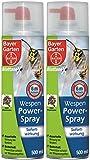 Bayer Blattanex Wespen-Powerspray mit Sofortwirkung 1 Liter (2x 500ml)