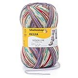 REGIA 4-fädig Design Line by ARNE & CARLOS 9801270-03767 sauherad Handstrickgarn, Sockengarn, 100g Knäuel