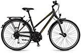 Winora Jamaica DLX 28 Zoll Trekkingrad Damen Grau/Schwarz/Senf Matt (2016), 56