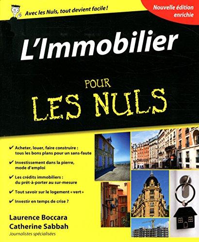 L'Immobilier pour les Nuls, 4e édition par Catherine SABBAH