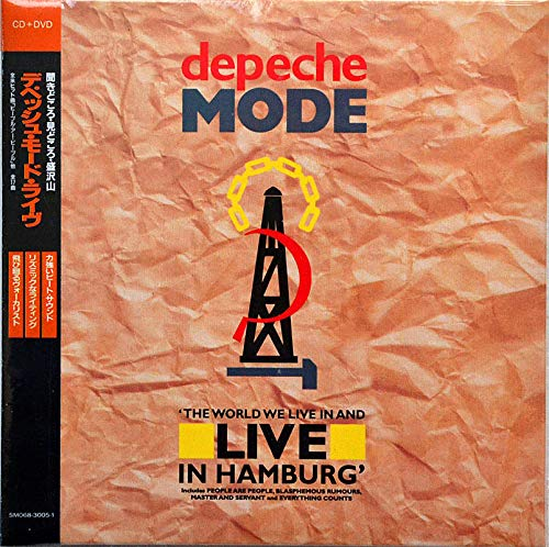 DEPECHE MODE The World We Live In And Live in Hamburg CD/DVD BOX SET