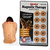 10 x MAGNETIC THERAPY PAIN RELIEF BODY MAGNETS PATCHES PLASTERS NATURAL HEALING