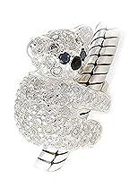 Koala Bear Charm Bracelet Bead - Sterling Silver