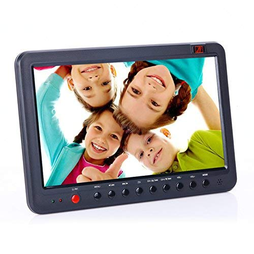 Tragbare HD-TV mit DVB-t DVB-T2/DVB-T USB PVR TV Recorder mit Timeshift 10,1 Zoll kleinen Bildschirm digital LCD (Kleine Hd Tv)