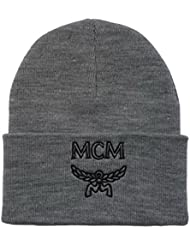 Adjustable MCM Snapback Knit Cap for Unisex One Size – Gorro de lana para hombre