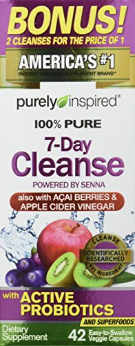 Muscletech 100% Pure 7-Day Cleanse, 42 Count Supplement, Standard, 21 g (Sieben-tage-cleanse)