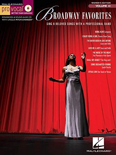 Pro Vocal Volume 41 Women'S Edition Broadway Favourites Mlc Vce Bk/Cd (Hal Leonard Pro Vocal)