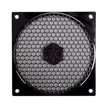 SilverStone SST-FF121B - 120mm grille ventilateur et filtre à poussière, noir