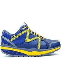 MBT - Zapatillas para deportes de exterior para mujer azul ultramarine/pastel orange