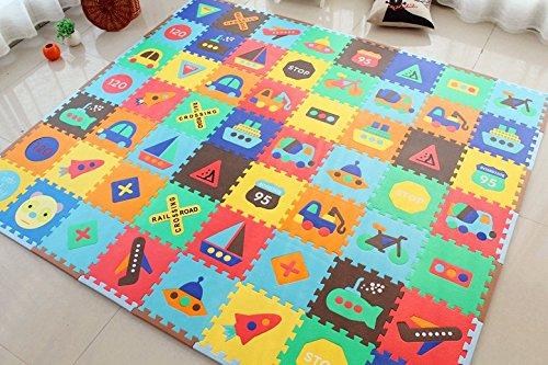 Alfombra de suelo puzzle alfombra de juego en espuma ni os - Suelos para ninos ...