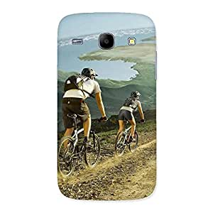Gorgeous Bycycle View Back Case Cover for Galaxy Core