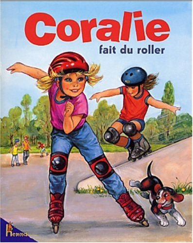 Coralie fait du roller
