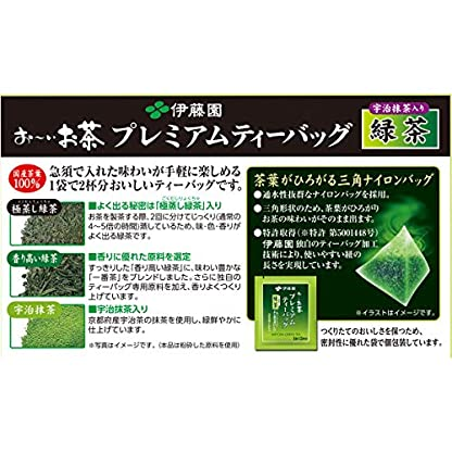 Itoen-Premium-Tee-Bag-Green-Tea-18g-50-peace-Green-Tea-Pack-Type