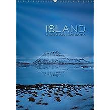 Island - Wundervolle Landschaften (Wandkalender 2019 DIN A2 hoch): Jeden Monat ein Stück Island - von Snæfellsnes über die unentdeckten Westfjorde bis ... (Monatskalender, 14 Seiten ) (CALVENDO Natur)