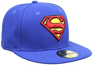 New Era Character Basic Superman 5FIFTY Fitted Casquette de Baseball Homme, Bleu (Blue), Large (Taille Fabricant: 7 3/8) (B00C122UBW) | Amazon Products