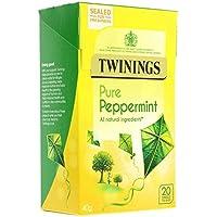 Twinings Peppermint Bolsitas de té - 4 x 20 de