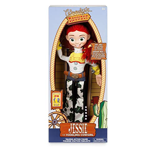 Disney Official Store Toy Story 4 Deluxe Talking Jessie Doll Toy Detector