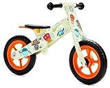 Nicko pour Enfant-Draisienne en Bois-Vélo de Course-First Bike-Training Bike (Robot 863)