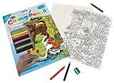 Royal & Langnickel CPN3 - Malen nach Zahlen mit Buntstiften - Kätzchen & Hundebaby
